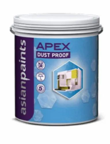 Asian Paints Apex Dust Proof Paint Emulsion 20l Rs 4800 Bucket Trade Tales Id 22857936533