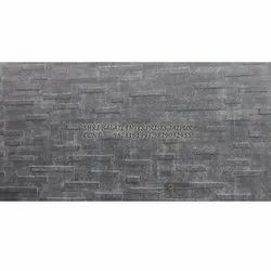 On Walls Grey Stone Wall Cladding, Thickness: 15 To 20 Mm