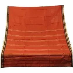 Casual Wear Tye and Dye Handloom Cotton Saree, With Blouse, 5.5 m