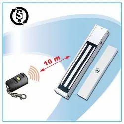 SEKURIT WOODEN & GLASS DOORS Sek- RF-600- TBZ- LED -12 VDC Wireless Em Lock With Remote, 600 LBS, ACCESS CONTROL