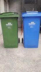 Nilkamal Waste Bin Wheeled 240 Ltr