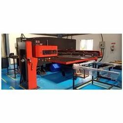 Amada CNC Turret Punch Press, Model Name/Number: AE2510NT