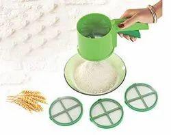 Kitchen Flour/Atta Sifter, Sieves, Strainer, Chalani