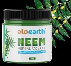 Aloearth Neem Herbal Face Gel, Jar
