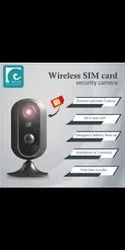 Ewave Day & Night Vision 4G Security Wireless Simcard Camera, Range: 20 to 25 M