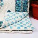 Handblock Printed Baby Quilt