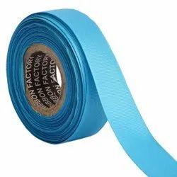 Grosgrain - Blue Ribbons25mm/1''Inch Gross Grain Ribbon 20mtr Length