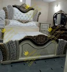 Decorative Wooden Single Bed