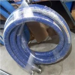 1'' To 4'' UHMWPE Hoses With SMS Union End Fittings, For Milk And Pharma