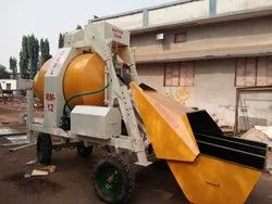 Electric Automatic MS Reversible Ready Mix Concrete Machine, Model Name/Number: Rm - 12
