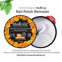 Masking - Nail Polish Remover Wipes / Pads - Orange