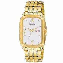 Bezelo Golden Wrist Watches