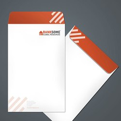 White Paper Big Envelope, Rectangular, Size: A4 Size