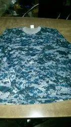 Military Cotton T-Shirt