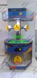 3 Nozzle Hexagonal Model Pani Puri Vending Machine