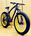 Prime Jaguar Black Yellow Fat Tyre Cycle