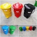 Wheeled Dustbin With Side Pedal