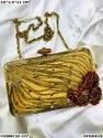 Ethnic Brass MOP Clutches