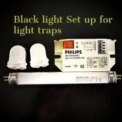Black Light (BL) 4W With Holder And EBS PHILIPS LI-IR-72, For Research