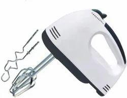 Scarlett Plain High Speed Egg Beater Hand Mixer With 7 Speed (White)