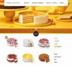 HTML5/CSS Responsive Bakery Online Websites, With 24*7 Support