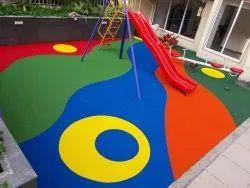 Playground EPDM Rubber Flooring Mat