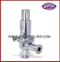 Clean Steam Pressure Relief Valve