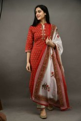 Salwar Set Kurtis With Dupatta