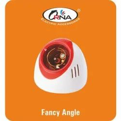 Orna Plastic Electric Fancy Angle Holder, For Electrical Fitting, Base Type: B22