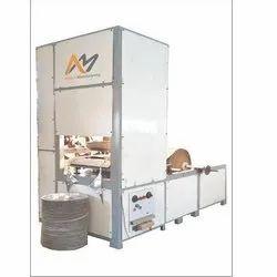 Zig Zag Auto Hydraulic Paper Thali Machine