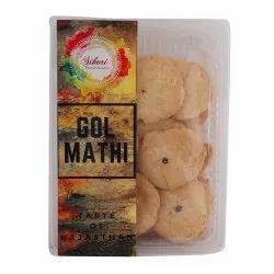 Sikori Salt Pepper Gol Mathri, Packaging Size: 250 G