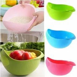 Multi- Function With Integrated Colander Mixing Bowl Washing Rice