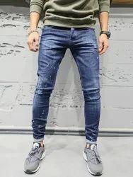 VSPL Regular Fit Men Faded Party Wear Denim Jeans