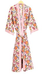 Ladies Cotton Kimono Dress