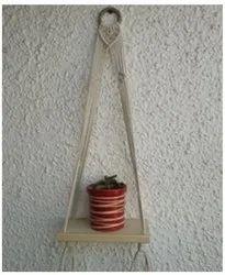 Anokhi Macrame Hanging Shelf