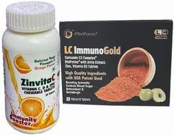 ZinvitaC and ImmunoGold Nutritional Supplements