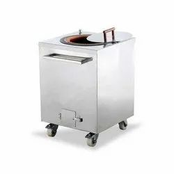 Stainless Steel Gas Tandoor 30X30X34, For Commercial