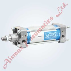 Heavy Duty Pneumatic Cylinder with Adjustable Cushioning at Both Ends