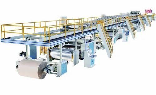 Automatic 5 ply Corrugated Box making machine