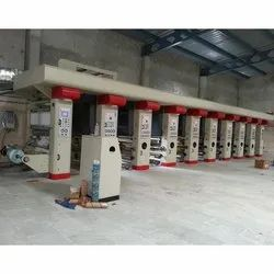 6 Color Rotogravure Printing Machine