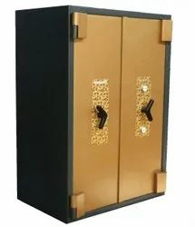 Golden and Anthracite Grey Steelage Hallmark DD 507 2KL EN GIII High Security Safe