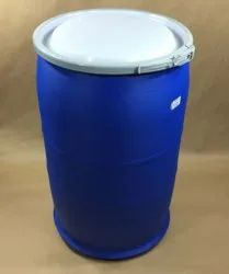 Blue,White Cylindrical 200 Litre UN Approved HDPE Drum, For Packaging Industry