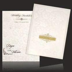 Wedding Invitation Card - KNCBN138, 2 Leaflet