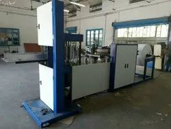 Fully Automatic Grocery V Bottom PaperBag Making Machine