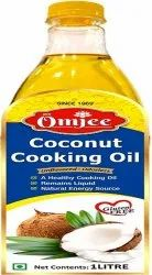 Cold Pressed 1 LITRE OmJee Gai Chhap Coconut Cooking Oil