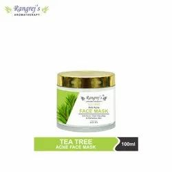 Rangrej's Aromatherapy Tea Tree Face Mask For Glowing & Brightening Skin 100ml