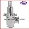 Hyper Screwed Sanitary Pressure Relief Valve