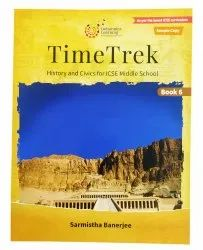 English Time Trek Book For ICSE Middle School, 6