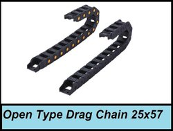 Open Type Drag Chain 25x57