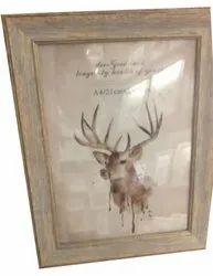 21 x 29.7 cm Wooden Photo Frame
